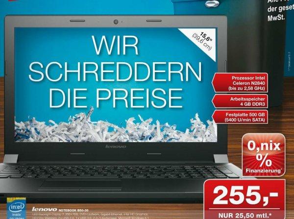 Notebook Lenovo B50-30 [Lokal Bremen]