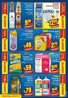 [Netto] Booster Energy Drink 0,5l 0,49€ zzgl. Pfand evtl. Lokal in NRW?