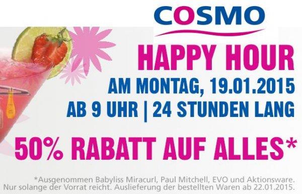 Cosmo (Friseurbedarf) - 50% auf Alles* ~ z.B GHD Styler ab 99,50€ (bis 20.01 - 9Uhr)