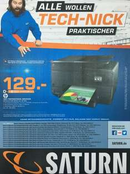 HP Officejet Pro 8615 in allen Berliner (+ Potsdam) Saturn Märkten für 129€