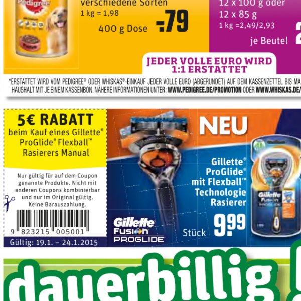 Der neue Gilette Rasierer für nur 5€ Rewe Dortmund