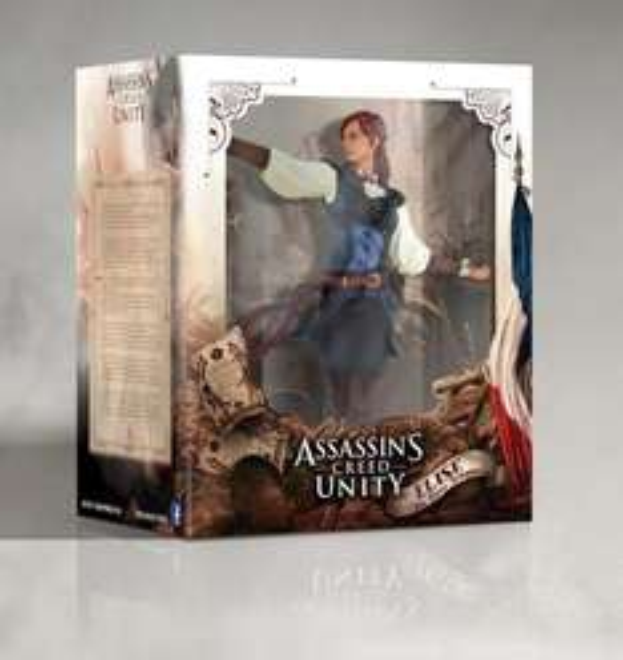 UBIcollectibles - Assassins Creed Unity Figuren Arno und Elise je 29,99 €