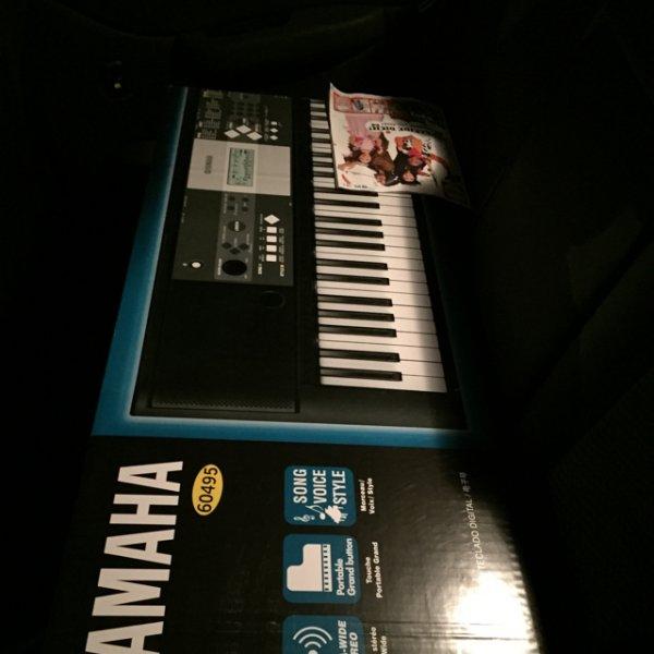 Lidl (im Ausverkauf)Yamaha Keyboard ypt-230