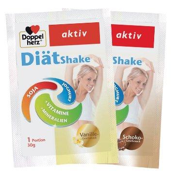 Produktmuster  Doppelherz Diät Shake