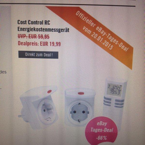Cost Control RC Energiekostenmessegerät