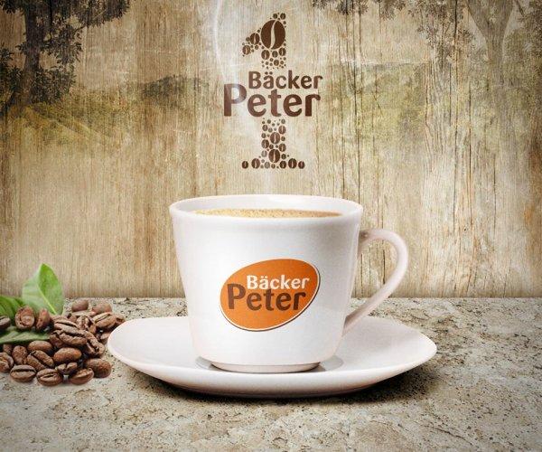 Kaffee bei Bäcker Peter für die Hälfte (50% Sparen) [lokal NRW, offline]