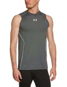 [AMAZON, PRIME] Under Armour - HG Sonic Fitted Tank-Top, Herren, grau, XXL
