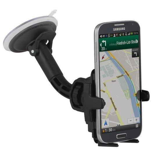 [Amazon Blitzangebot] Wicked Chili KFZ Halterung für Samsung Handy Galaxy S5 / S5 mini / S4 / S4mini / S4 Active / S3 / S3mini /  Ace 2 + 3 / Trend Plus / Express II / Core / Fame Lite