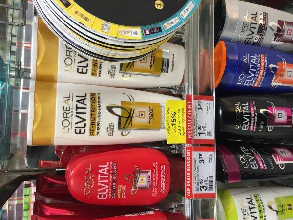 [Müller bundesweit] Elvital von L''Oreal shampoo und Spülung verschiedene. Sorten