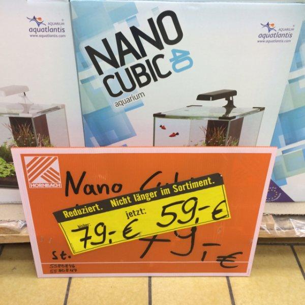 Hornbach (Lokal Bamberg -evtl bundesweit) Nano Cubic Aquarium 40l