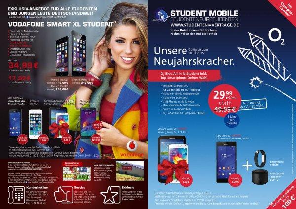 [VF-Netz] Allnet-Flat, SMS-Flat, 3GB LTE-Flat, Deezer Musik-Flat, Original Vodafone fuer 17,99€/Monat fuer Studenten/junge Leute