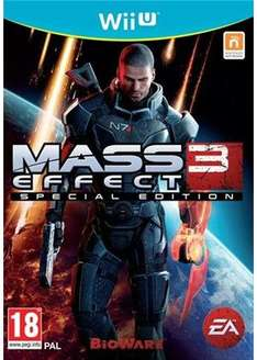 Mass Effect 3: Special Edition Wii U für 9,65€, Call Of Duty Ghosts für 15,33€ jeweils inkl. Versand @base.com