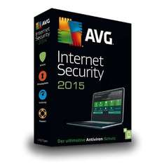 AVG Internet Security 2015 Vollversion 1 User 1 PC - 4,99 EUR @ eltronics