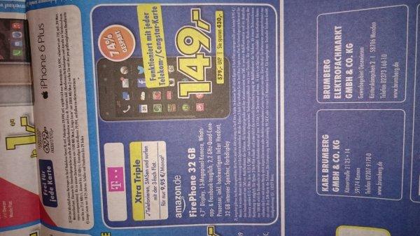 Lokal Kamen Amazon FirePhone 32GB 149 €