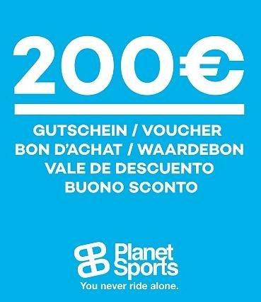 Planet-Sports Gutschein über 200 € für 127,96 €