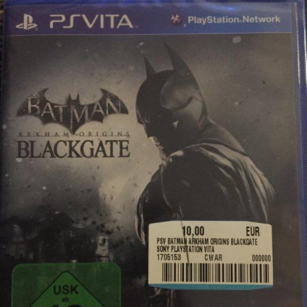 (Lokal) PS Vita Batman Blackgate, FIFA 14 MediaMark Köln-Marsdorf
