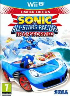 Sonic & All-Stars Racing Transformed Limited Edition Wii U für 18,19€ @ game.co.uk