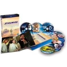 Star Wars: The Complete Saga Blu-ray bei Zavvi.de für 55,07 Euro