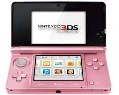 [Amazon.uk] Nintendo 3DS in pink für 109€ - 17% unter Idealo