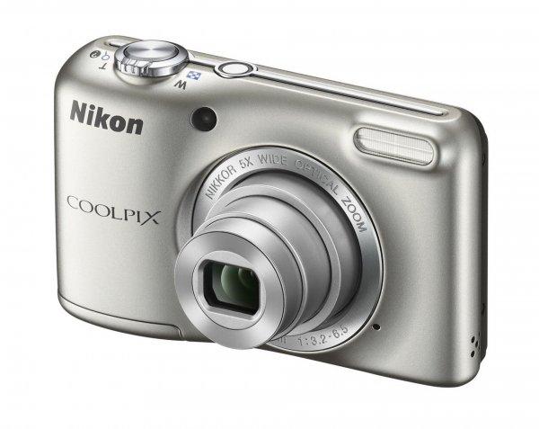 Nikon Coolpix L29 silber Kamera mit 16 MP super Schnäppchen