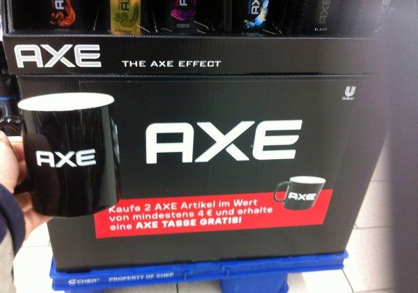 Kauf 2 Axe Arikel für mind.4€ und bekomme eine Gratis Axe Tasse dazu - KAUFLAND Heidelberg (vermutlich auch weitere Filialen)