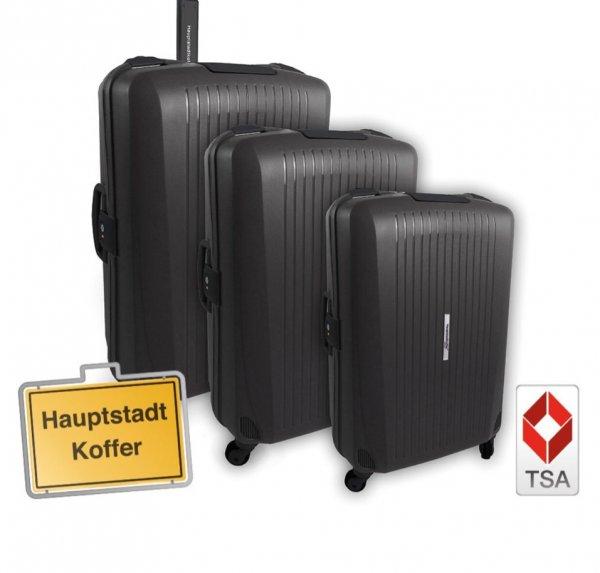 Hauptstadtkoffer Koffer-Set Q Damm 3 teilig Schwarz,Rot oder LiLa oder Pink