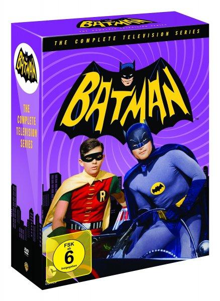 [Saturn.de] Batman DVD-Komplettbox (18 DVDs) ab 34€