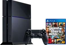 Sony PlayStation 4 / PS4 500GB + Grand Theft Auto 5 für 399€ - Ebay