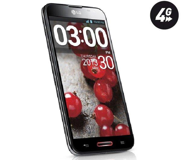 LG Optimus G Pro E986 - schwarz - 16 GB - 4G - Smartphone für 233,22 @ Pixmania
