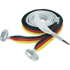 Urban Revolt Lace In-Ear Ohrhörer mit Headset-Funktion, 2014 World Cup Brazil Edition