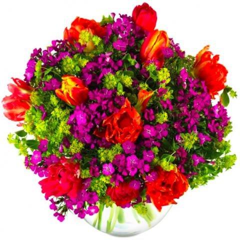 """Miflora: Blumenstrauß """"Strahlendes Glück"""" für nur 21,90€ inkl. Versand (statt 35,80€)"""