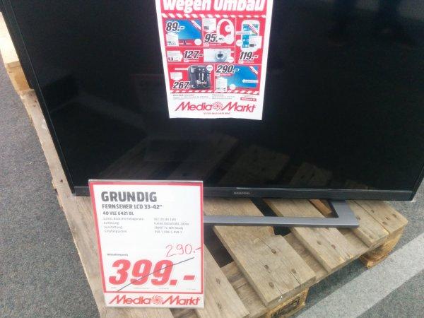 "[LOKAL] Mediamarkt Schorndorf - GRUNDIG 40VLE6421BL 40"" LCD TV 290€"