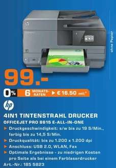[Saturn Stuttgart Esslingen] HP OfficeJet Pro 8615 für 99€ + ggf. 30 € Trade-In