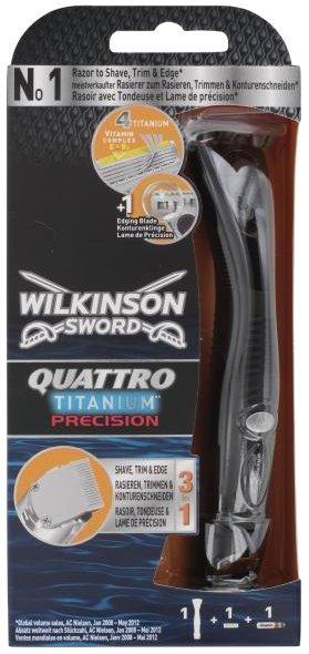 Wilkinson Quattro Titanium Precisionfür 4,45€