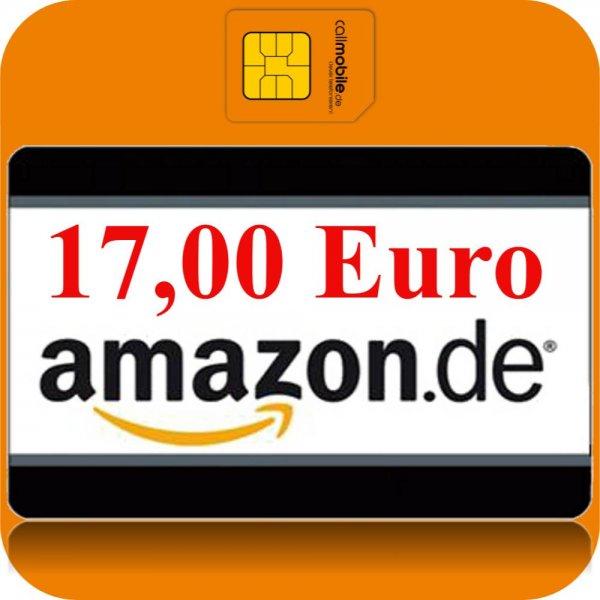 Wieder da: Callmobile SIM-Karte mit 17 € Amazon Gutschein für nur 2,95 €