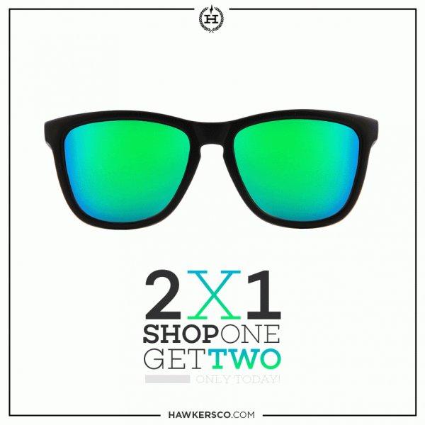 Hawkers Shop 1 get 2 (Sonnenbrille ab 14 € ggf. billiger)