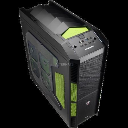 Aerocool XPredator X1 Evil Green Edition Big-Tower Gehäuse für 94,85 € @ZackZack