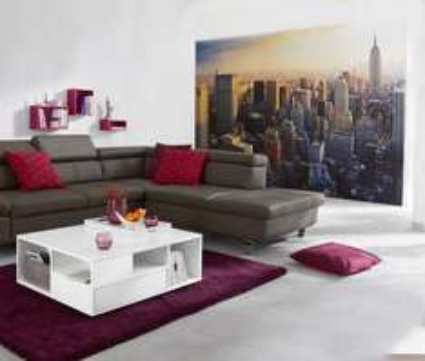 Große Fototapete »New York« - Großformatiges, effektvolles Wandtattoo mit Spezialkleister – ca. 3,56 x 2,54 m - evtl. 10 % Newsletter - Tchibo - + 7 % Qipu - 9,00 €