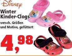 [THOMAS PHILIPPS] Disney Winter Kinder-Clogs