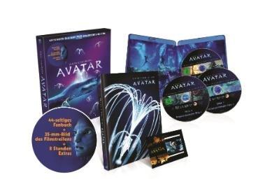 Avatar – Extended Collector´s Edition: 3 Blu-rays mit Fanbuch für 12,99€ @Saturn