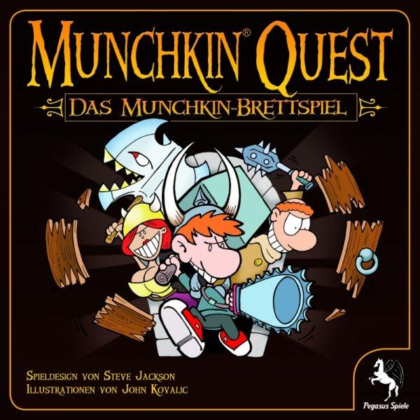 [Thalia.de] Pegasus Munchkin Quest Brettspiel - 22,10€ bei Thalia = 15% unter Idealo // weiterhin: Dominion für 18,70€ & Agricola für  28,90€