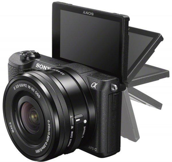 Sony Alpha 5100 Kit 16-50 mm (schwarz) für 380,63€ @Amazon.co.uk