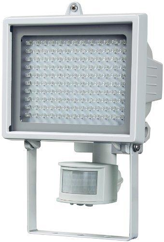 amazon warehousedeals, Brennenstuhl LED-Wandstrahler L130PIR, IP44, mit Bewegungsmelder, weiß