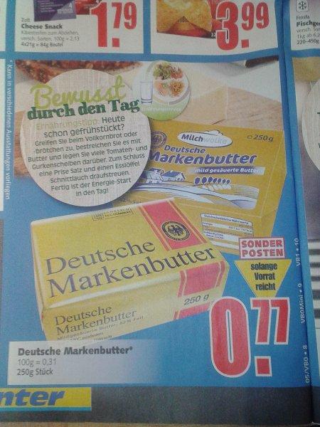 [Edeka E-Center Dessau-Roßlau] Deutsche Markenbutter 250g
