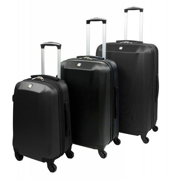 (Amazon) Günstiges & hübsches Kofferset von SwissGear by WENGER Typ Davos (3 Koffer) für 119,70€ statt 329,85€