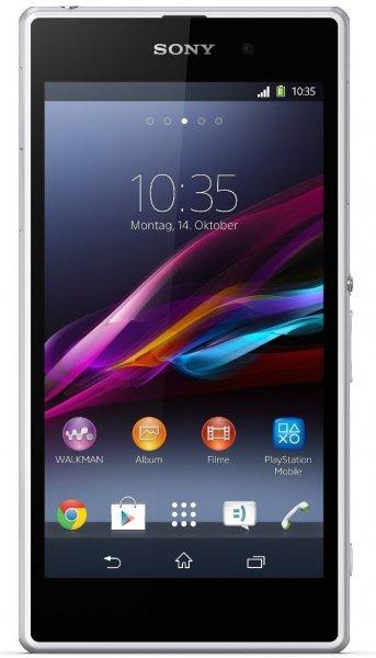 Sony Xperia Z1 white LTE 16GB ohne Vertrag @ Amazon Es 286,01 EUR inkl. Versand