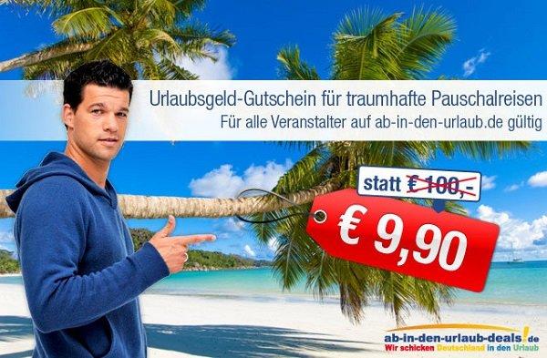 [AIDU] 100€ Urlaubs-Gutschein für 9,90€ (nur 400 Gutscheine)
