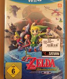 The Legend Of Zelda Windwaker HD Wii U @ Saturn Schweinfurt (lokal)