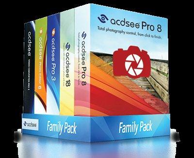 [Bildbearbeitung] ACDSee Family Pack - alle Programme bis zu 3 Benutzer