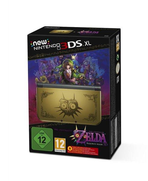 Nintendo New 3DS XL Majora's Mask Bundle oder Monster Hunter 4 Ultimate Bundle für 203,15€ bei thalia.de